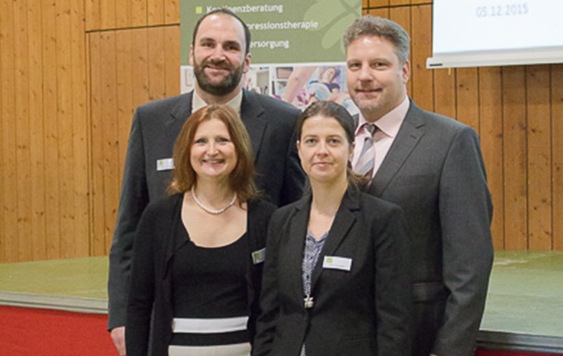 Marco Feulner, Christine Strack, Katja Aumueller, Dr. Steinbach