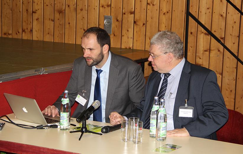 Marco Feulner und Dr. Schimmelpfennig