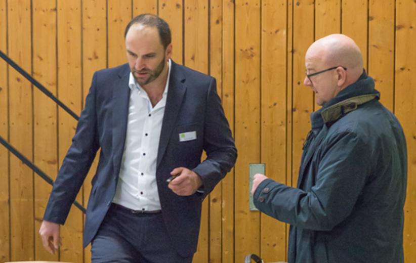 Marco Feulner und Norbert Matscheko