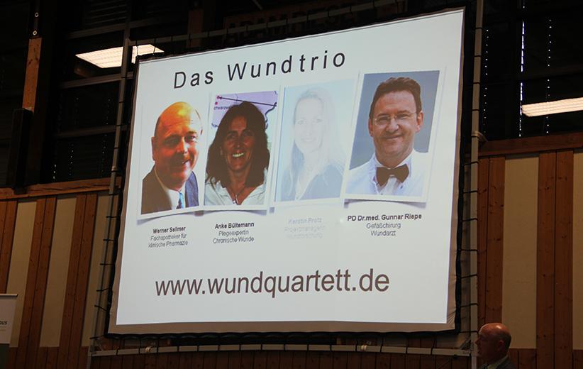 Wund-Trio Bildschirm