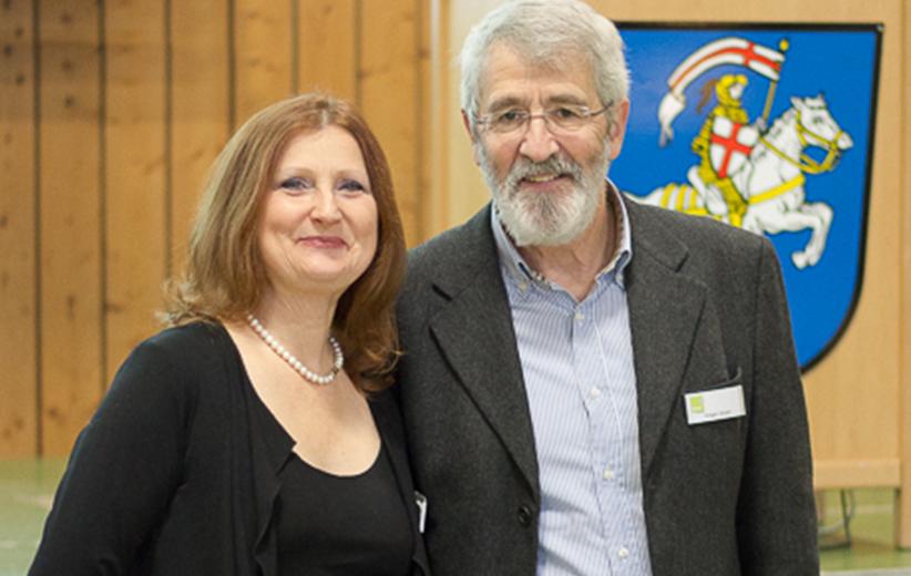 die Gastgeber Holger und Christine Strack